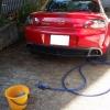 RX-8を洗車した(間違いなく半年以上ぶりに)