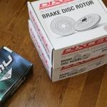RX-8のブレーキローター&パッド交換!