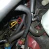 RX-8のクラッチフルード交換