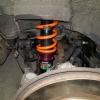 RX-8 車高調の取り付け方法